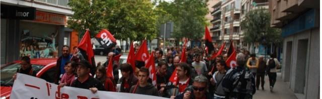 Foto Manifiestación 1º de mayo