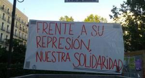 Frente a su represión, nuestra solidaridad
